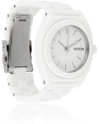Nixon Time Teller Ceramic Watch - Lyst