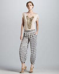 T-bags - Printed Pants - Lyst