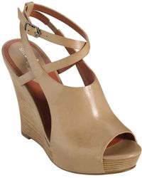 Cole Haan Air Gilda Wedge Sandals - Lyst
