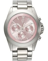 Juicy Couture Womens Stella Stainless Steel Bracelet 41mm pink - Lyst