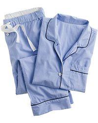 J.Crew Vintage Short-Sleeve Pajama Set - Lyst