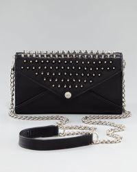 Rebecca Minkoff Studded Chainstrap Wallet - Lyst