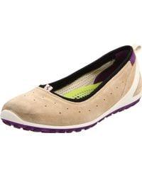 Ecco Biom Lite Ballerina Sneakers - Lyst