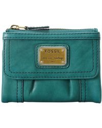 Fossil Emory Multifunction Wallet - Lyst