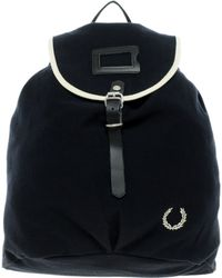 Fred Perry Fred Perry Canvas Backpack - Lyst