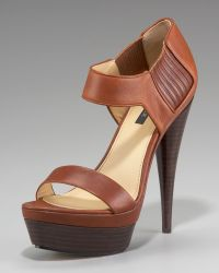 Rachel Zoe Gored Platform Sandal - Lyst