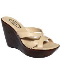 Callisto Sugar Wedge Sandals - Lyst