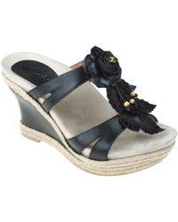 Earthies - Semprini Wedge Sandals - Lyst