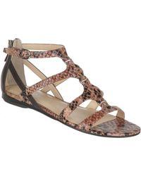 Franco Sarto Fava Flat Sandals - Lyst