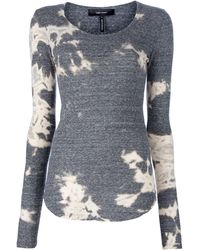 Isabel Marant Bleached Top - Lyst