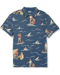 Polo Ralph Lauren Surf print Cotton jersey Polo Shirt - Lyst