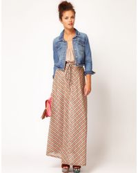 River Island River Island Chelsea Girl Knitted Maxi Skirt - Lyst