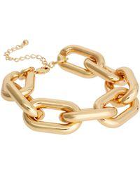 ASOS - Asos Chunky Link Chain Bracelet - Lyst