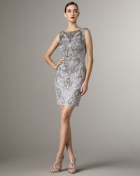 Mandalay - High-neck Beaded Dress - Lyst