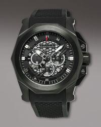 Orefici Watches - Gladiatore Chronograph, Black - Lyst
