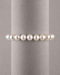 Assael - Pearl Bracelet - Lyst