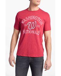 Banner 47 | Washington Nationals Regular Fit Crewneck Tshirt | Lyst