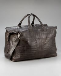 Santiago Gonzalez - Crocodile Carryall Bag, Large - Lyst
