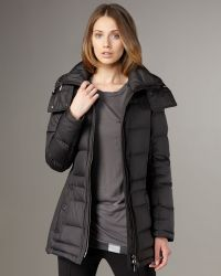 Burberry Brit Short Puffer Coat - Lyst