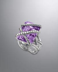 David Yurman - Cable Wrap Ring Lavender Amethyst - Lyst