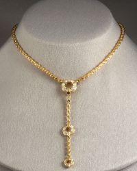 Di Modolo - Tempia Y Necklace with Detachable Drop - Lyst