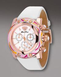Glam Rock | 46mm Smalto Chronograph Watch Pink | Lyst