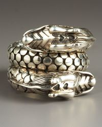 John Hardy Naga Head Coil Ring - Lyst