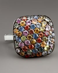 M.c.l  Matthew Campbell Laurenza - Pave Square Ring - Lyst