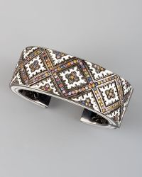 M.c.l  Matthew Campbell Laurenza - Persian Graphic Cuff Bangle - Lyst