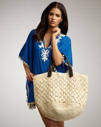OndadeMar - Straw Crochet Bag - Lyst