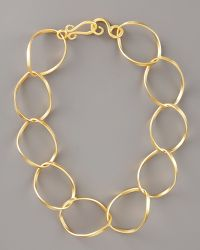 Stephanie Anne Chancellor Chain Necklace, 18l gold - Lyst