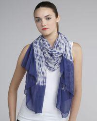 Thakoon - Tie-dye Printed Silk-blend Scarf - Lyst
