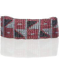 Vanessa Mooney - Handbeaded Cuff Bracelet - Lyst