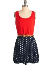 ModCloth Name It and Win It Cheers To The Future Day 4 Dress - Lyst