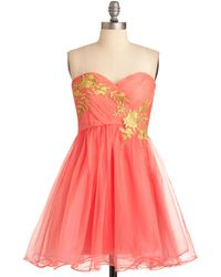ModCloth Garden Cotillion Dress - Lyst