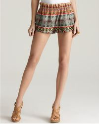 Rebecca Minkoff Shorts Printed Mika - Lyst