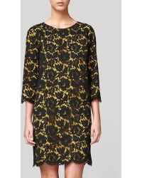 Stella McCartney Lace Dress with Scalloped Edges - Lyst