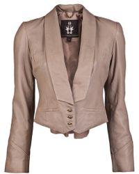 Bolongaro Trevor - Leather Jacket - Lyst