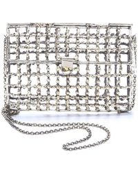 Anndra Neen - Dotted Open Cage Purse - Lyst