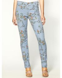 Citizens of Humanity Mandy High Rise Roll Up Jeans - Lyst