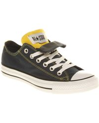 Converse All Star Ox Low Double Tongue Sneakers - Lyst