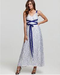 Jill Stuart Dress Maxi Dress Silk Chiffon - Lyst