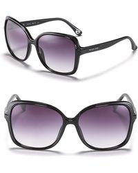 Michael Kors Michael Redonda Square Oversized Sunglasses - Lyst