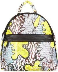 Topshop Animal Africa Print Backpack - Lyst