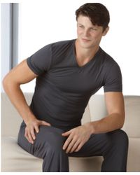 Calvin Klein Micro Modal Pajama Pants - Lyst