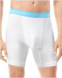 Calvin Klein 2 Pack Cotton Stretch Boxer Briefs - Lyst