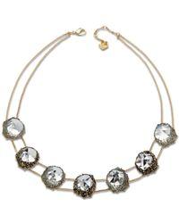 Swarovski Seven Crystal Necklace - Lyst