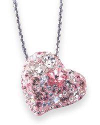 Swarovski Alana Crystal Heart pink - Lyst