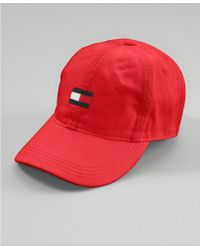 Tommy Hilfiger Flag Baseball Hat - Lyst