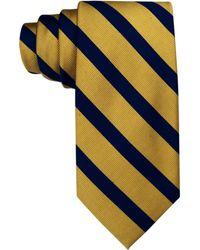 Tommy Hilfiger Vintage Slim Slide Stripe Tie yellow - Lyst